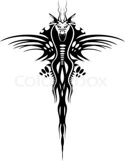 Asiatische Bande des schwarzen Drachen