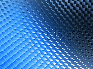 An abstract and colored background - 3d illustration