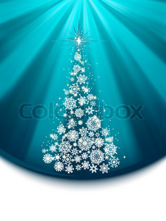Christmas tree. EPS 8 vector file included