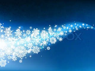 Christmas background with copy space. EPS 8 vector file included