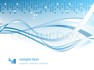 abstract vector background for your company presentation with copy space
