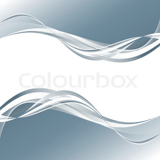 vector abstract background with wavy lines