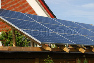 Solar panels a source of clean energy