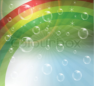Outdoor Rainbow Vector clip art