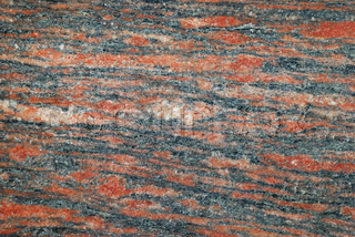 Texture of a red granite