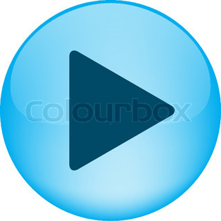 A  vector button for website with simvol