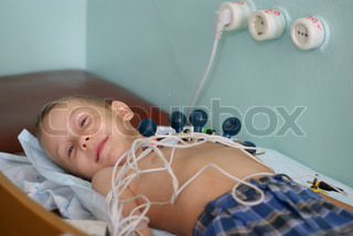 child in the clinic