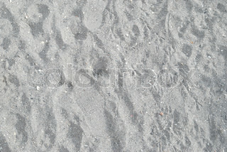 Texture of gray sand can be used for background.