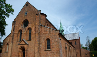 Cathedral of Soroe, Denmark. Famous church with royal graves.