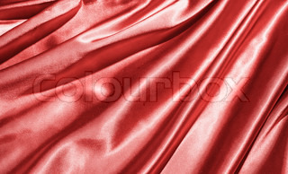 Fabric background in red color