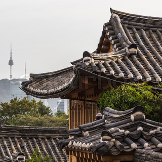 Bukchon Hanok Village Is One Of The Famous Place For Korean Traditional Houses In Seoul