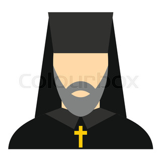 vector image of patriarch of the orthodox church stock vector rh colourbox com
