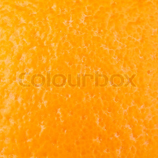 Macro food collection - Orange rind