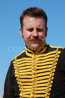 Russian hussar of Crimean War time(1854-1856)