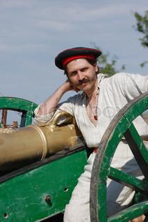 Russian soldier of Crimean War