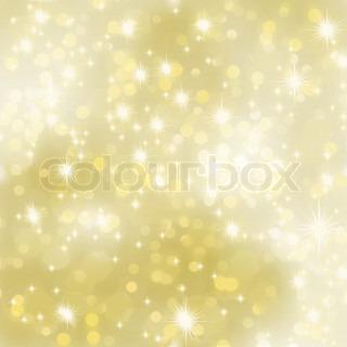 Glitrende guld Jul baggrund