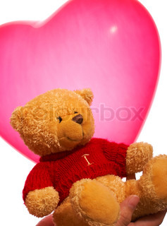 Teddy Bear As A Romantic Valentinees Gift