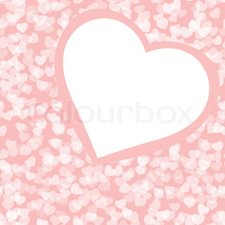 Romantic valentine background template