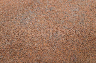 brown rusty surface with bulges