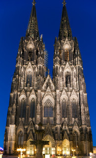 Kölner Dom, officially Hohe Domkirche St. Peter und Maria, Cologne, Germany