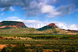 Great landscape of Utah state