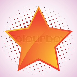 Vector star, abstract design element  EPS 10 vector file included