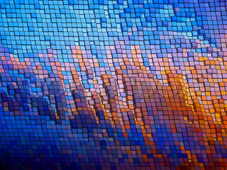 Mosaic vector background. EPS 8 vector file included