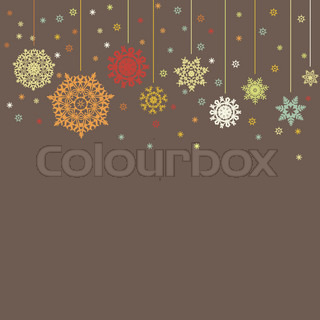 Design for xmas card background. EPS 8 vector file included