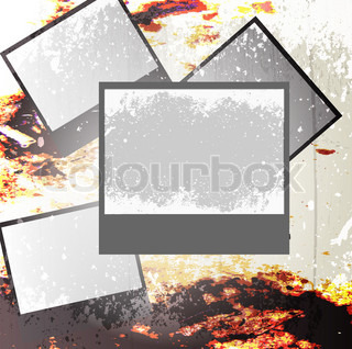 Vector of 'scrapbook, distressed, background'