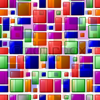 eps 10, vector seamless bright tile texture, clipping mask