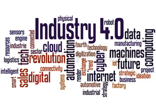 Industry 4.0, word cloud concept 8