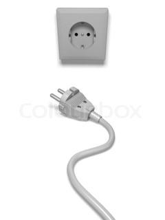 Bild von 'Strom, Steckdose, stecken'