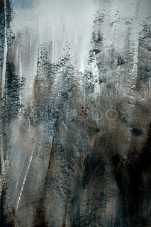 Mørk grå baggrund tekstur af ru børstet maling