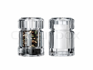 salt and pepper shaker bottle, cellar, chrome, condiment,