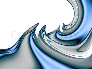 beautiful abstract water design or art element for your projects