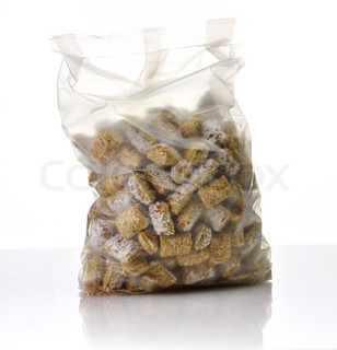 Shredded Wheat Cereal in a bag