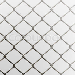 A 3D chain link fence texture that tiles seamlessly as a pattern
