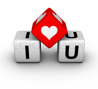 I love you (valentines day symbol)