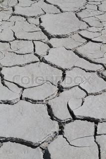 Cracked Jordens overflade ( Climat ændre konceptet baggrund)