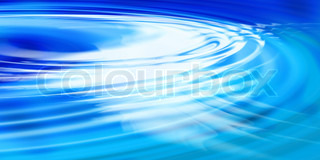 Aqua colored water ripples background