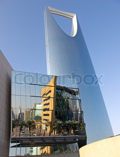 Kingdom tower is a business and convention center, shoping mall and one of the main landmarks of Riyadh city