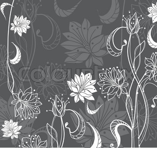 Vector of 'outline, flower, spring'