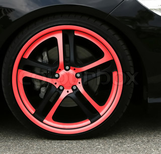Wheel close up isolated car industrial transportation