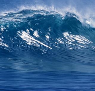blue ocean wave kan bruges som baggrund