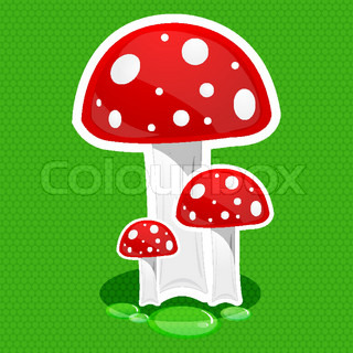 illustration of mushroom icon