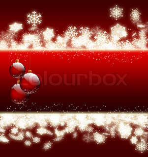 beautiful Christmas background - computer generated for your projects