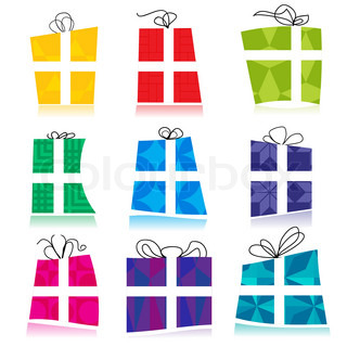 gift with white background