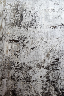 fragment of grey concrete wall