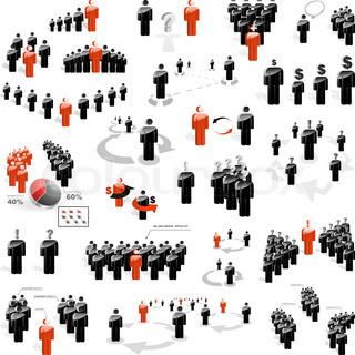 Grafiken von 'treffen, halt, handel'