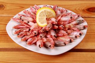 seafood rejer Bages i hvid plade for dig